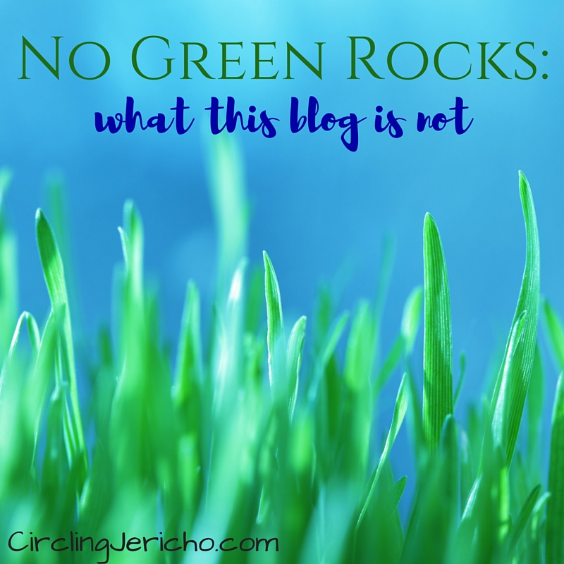 No Green Rocks-